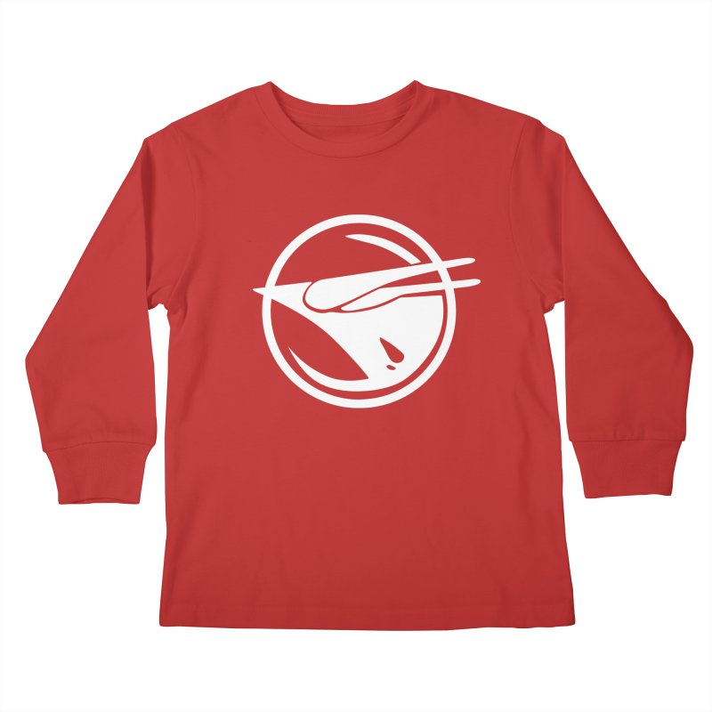 Rebel Phoenix Kids Longsleeve T-Shirt by Synner Design