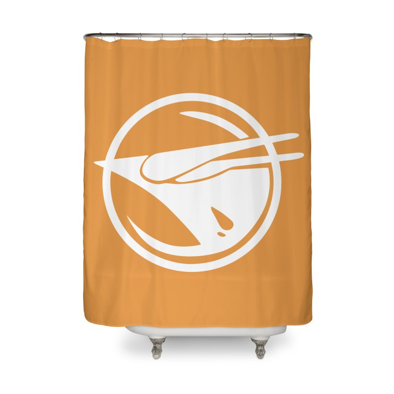 Rebel Phoenix Home Shower Curtain by Synner Design