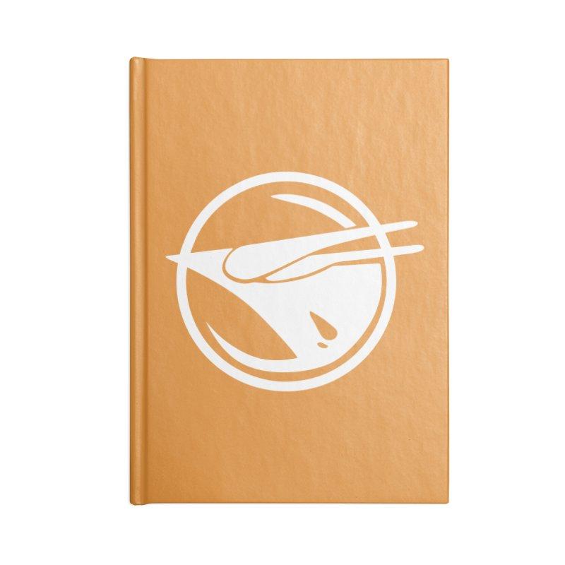 Rebel Phoenix Accessories Blank Journal Notebook by Synner Design