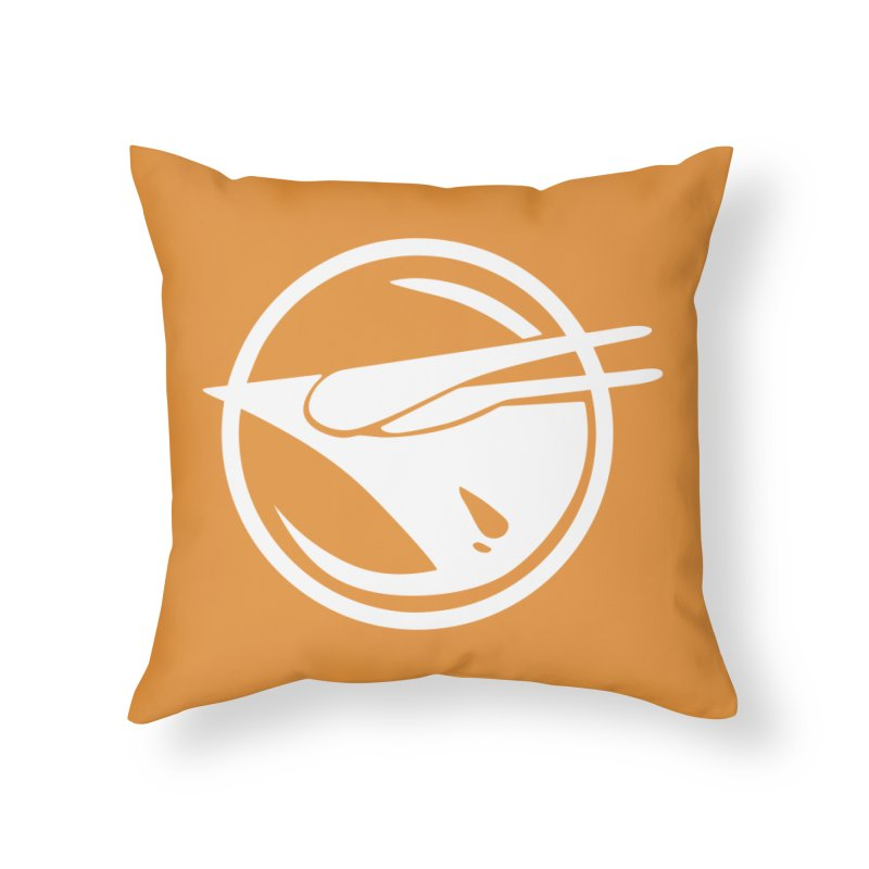 Rebel Phoenix Home Throw Pillow by Synner Design