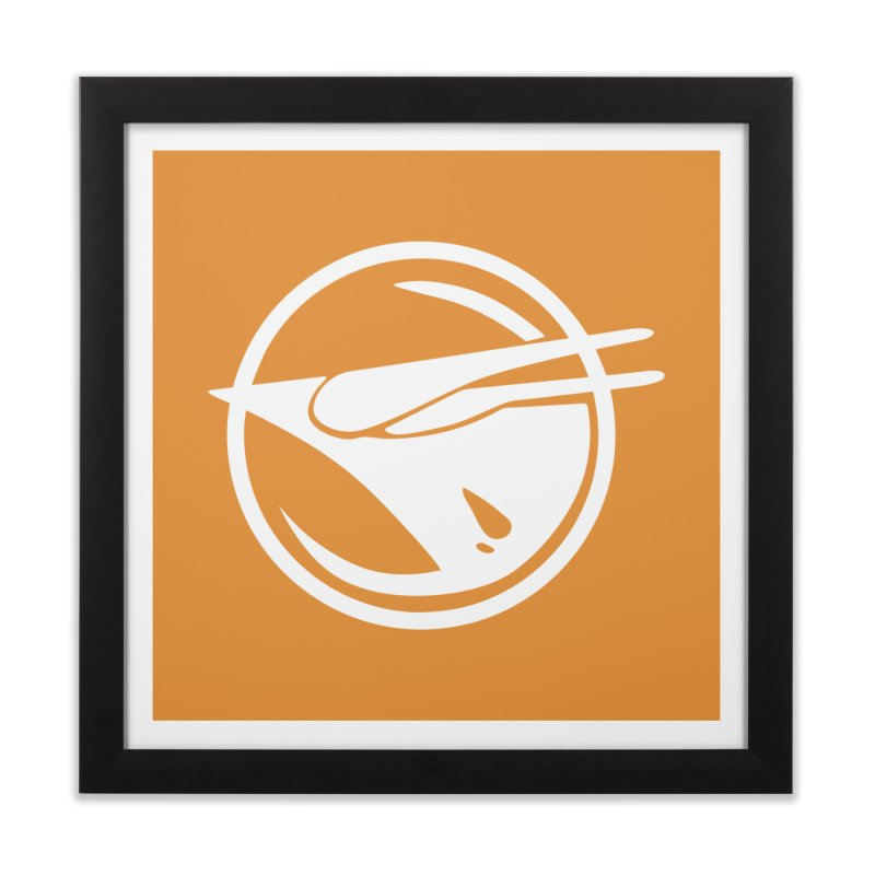 Rebel Phoenix Home Framed Fine Art Print by Synner Design