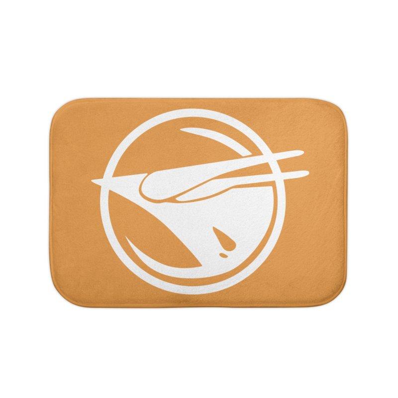 Rebel Phoenix Home Bath Mat by Synner Design