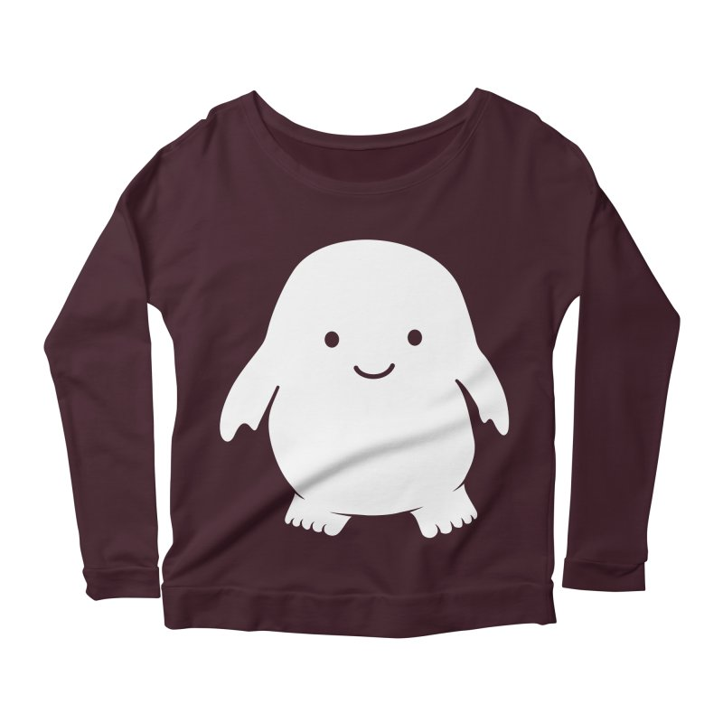 Adipose Women's Longsleeve Scoopneck  by Synner Design