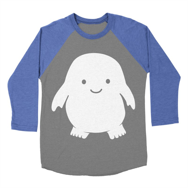 Adipose Women's Baseball Triblend Longsleeve T-Shirt by Synner Design