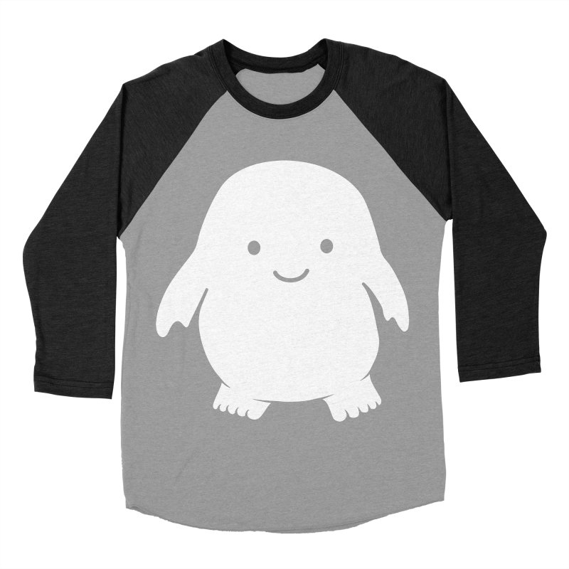 Adipose Women's Baseball Triblend Longsleeve T-Shirt by Synner Design