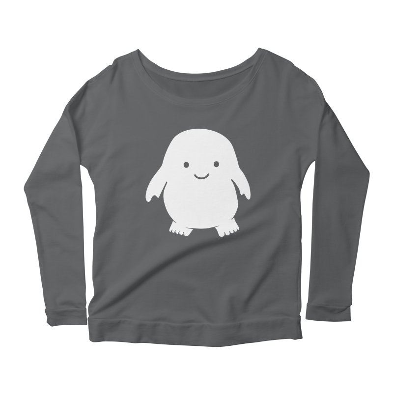 Adipose Women's Scoop Neck Longsleeve T-Shirt by Synner Design
