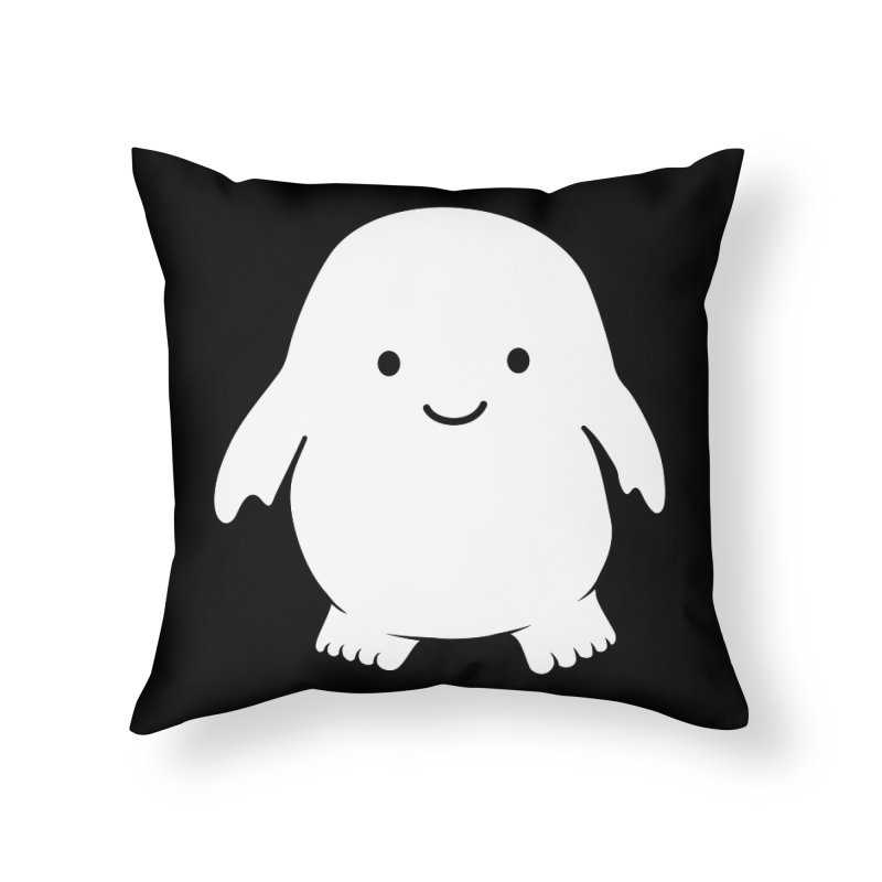 Adipose Home Throw Pillow by Synner Design