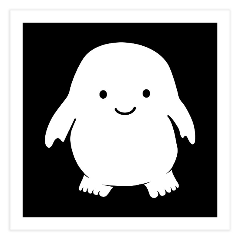 Adipose Home Fine Art Print by Synner Design