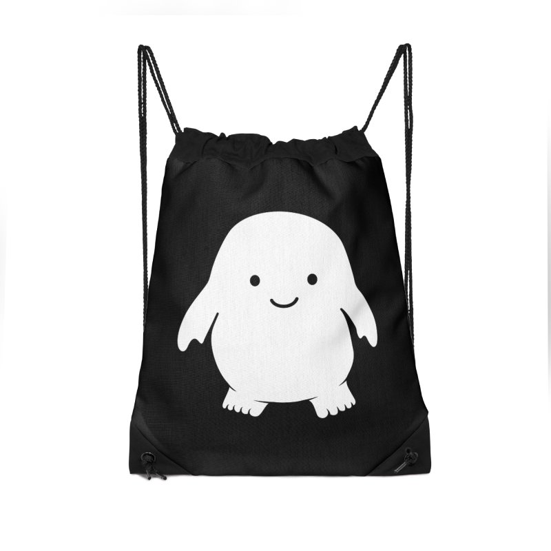 Adipose Accessories Drawstring Bag Bag by Synner Design