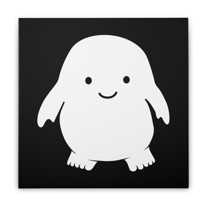 Adipose Home Stretched Canvas by Synner Design