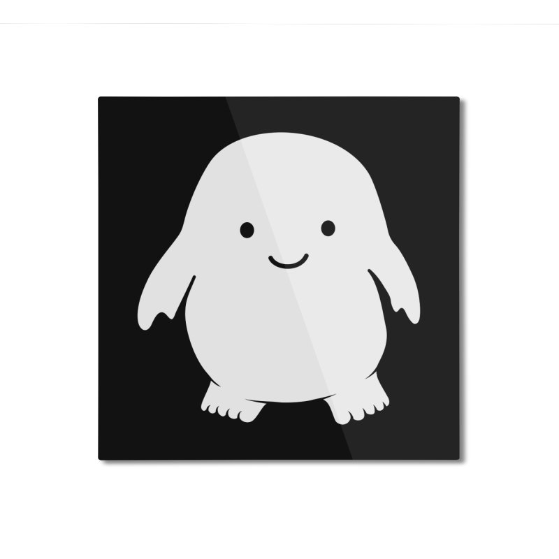 Adipose Home Mounted Aluminum Print by Synner Design