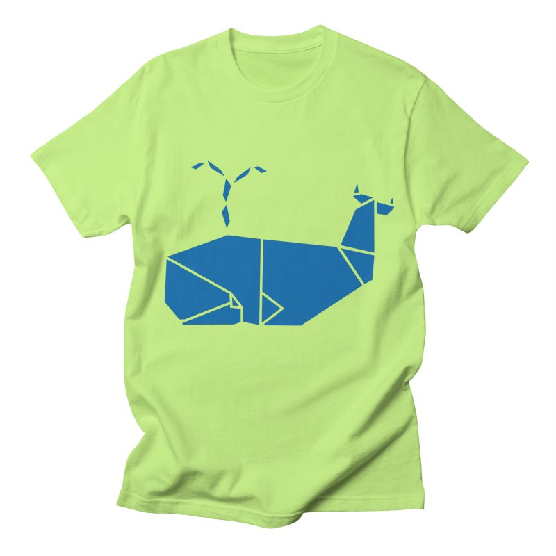 Blue Whale Origami Women's T-Shirt by Synner Design