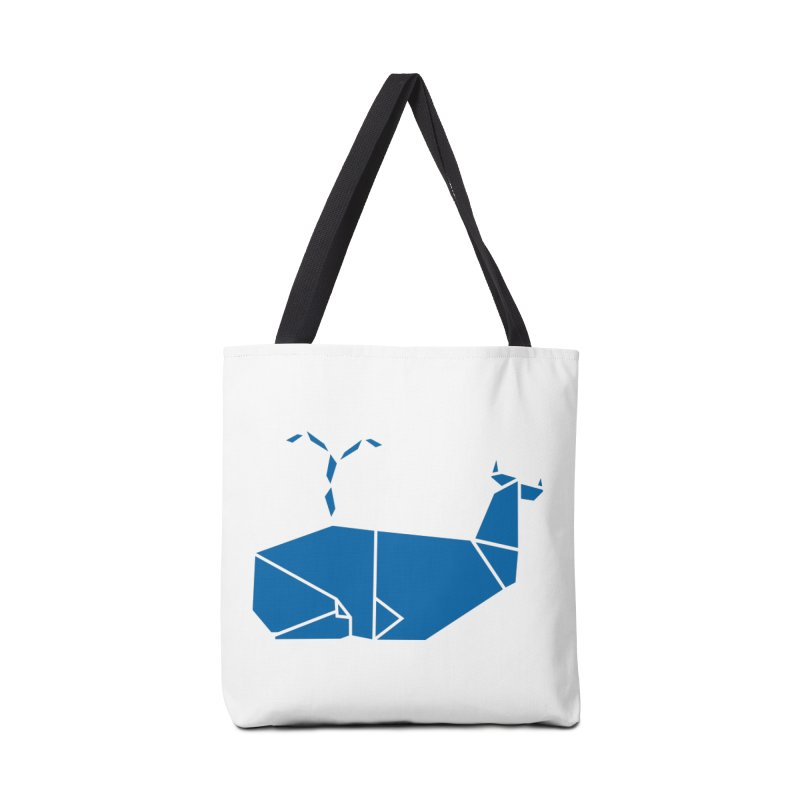 Blue Whale Origami Accessories Bag by Synner Design