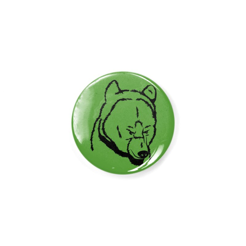 Black Bear Accessories Button by Synner Design