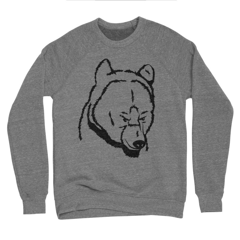 Black Bear Women's Sweatshirt by Synner Design