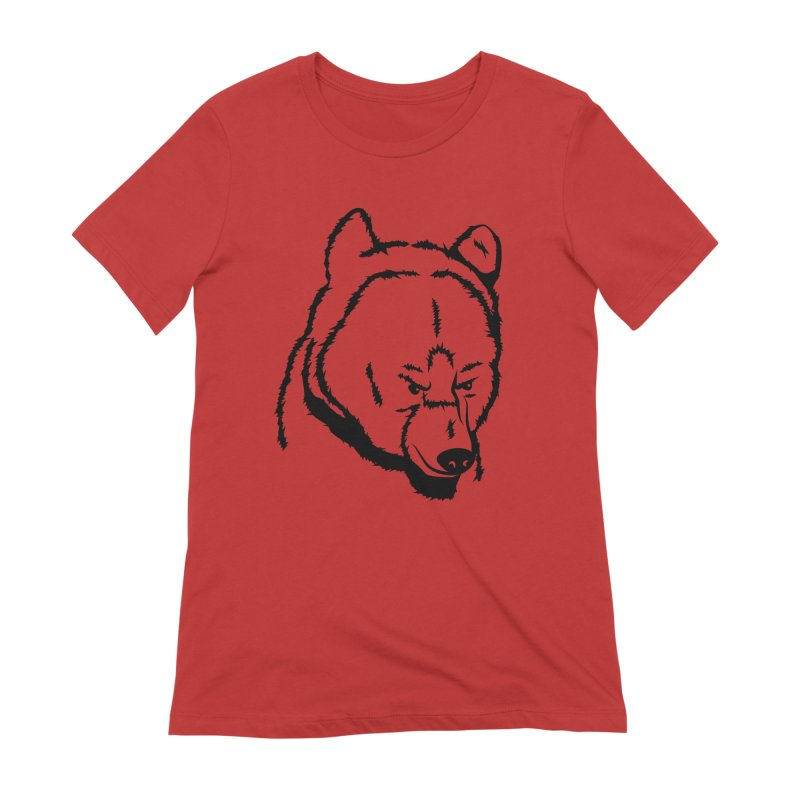 Black Bear Women's Extra Soft T-Shirt by Synner Design
