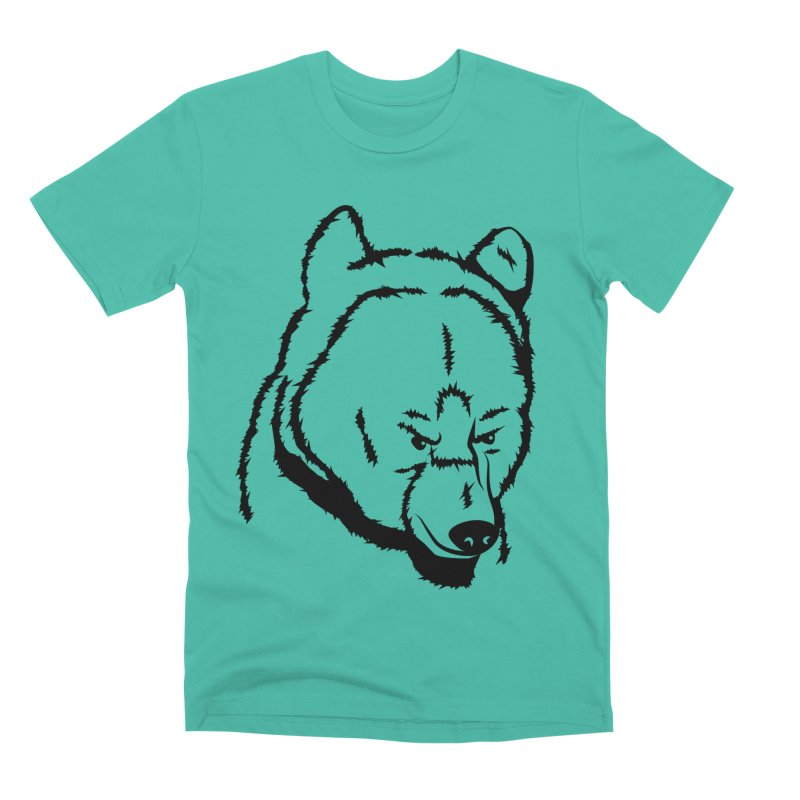 Black Bear Men's Premium T-Shirt by Synner Design