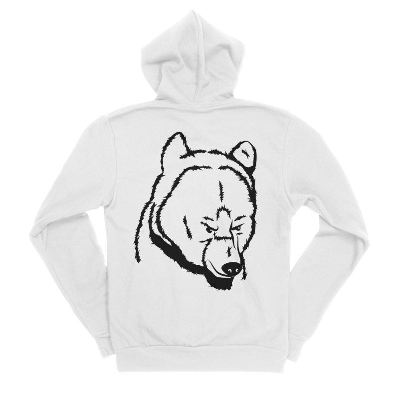 Black Bear Women's Zip-Up Hoody by Synner Design