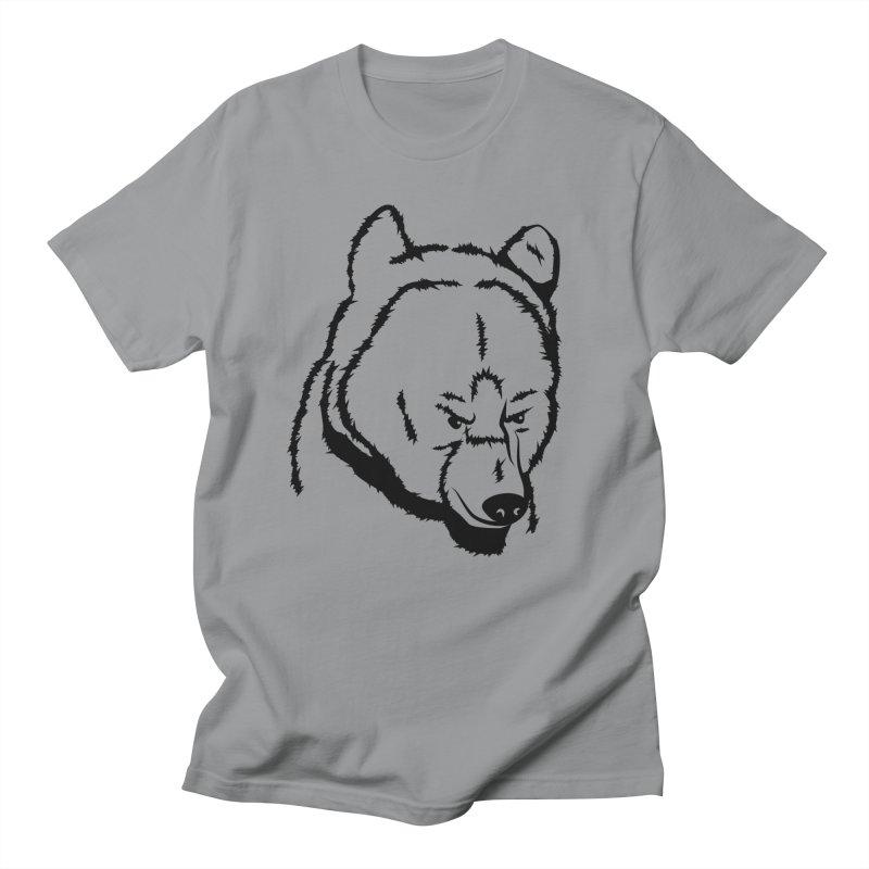 Black Bear Women's Regular Unisex T-Shirt by Synner Design