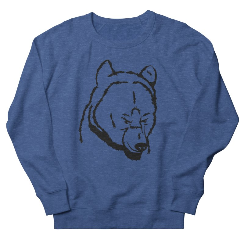 Black Bear Men's Sweatshirt by Synner Design