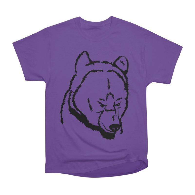Black Bear Women's Heavyweight Unisex T-Shirt by Synner Design