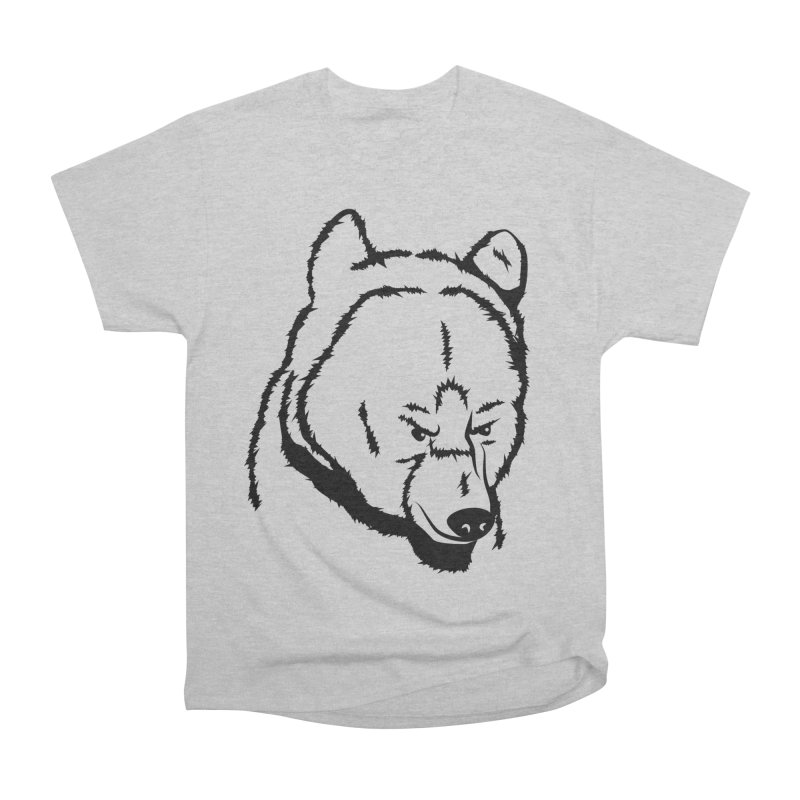 Black Bear Women's Heavyweight Unisex T-Shirt by Synner Design