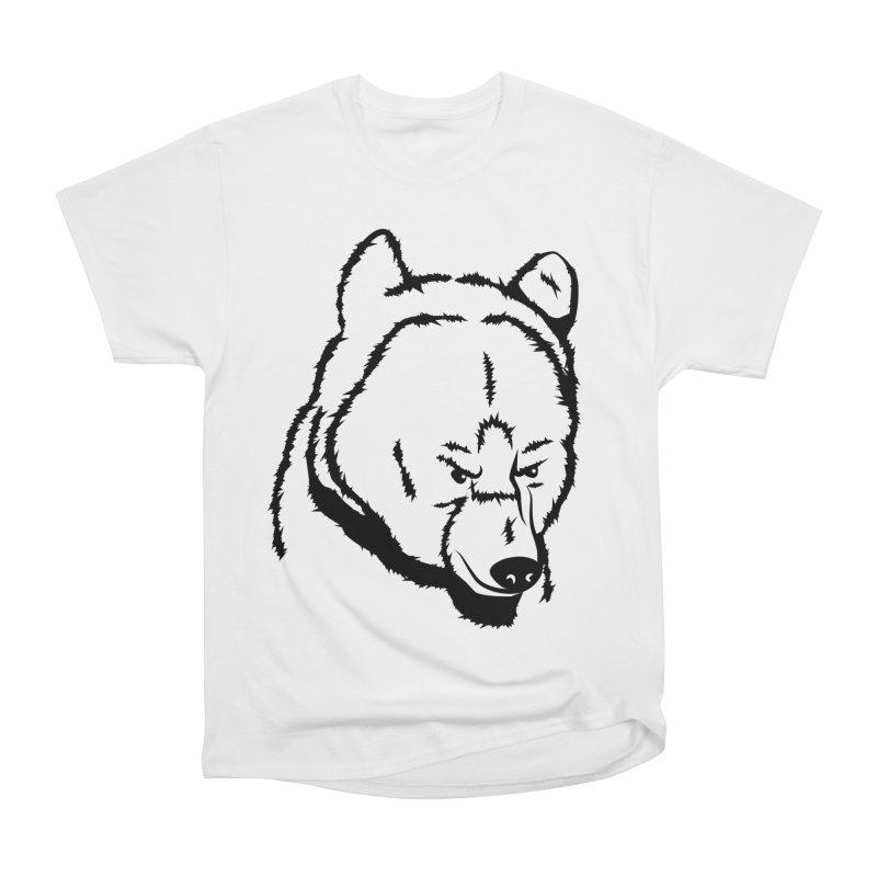 Black Bear Women's Classic Unisex T-Shirt by Synner Design