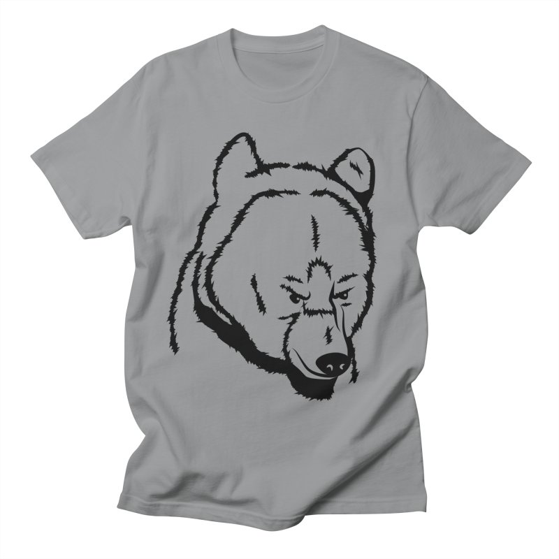 Black Bear Women's Regular Unisex T-Shirt by Synner Design