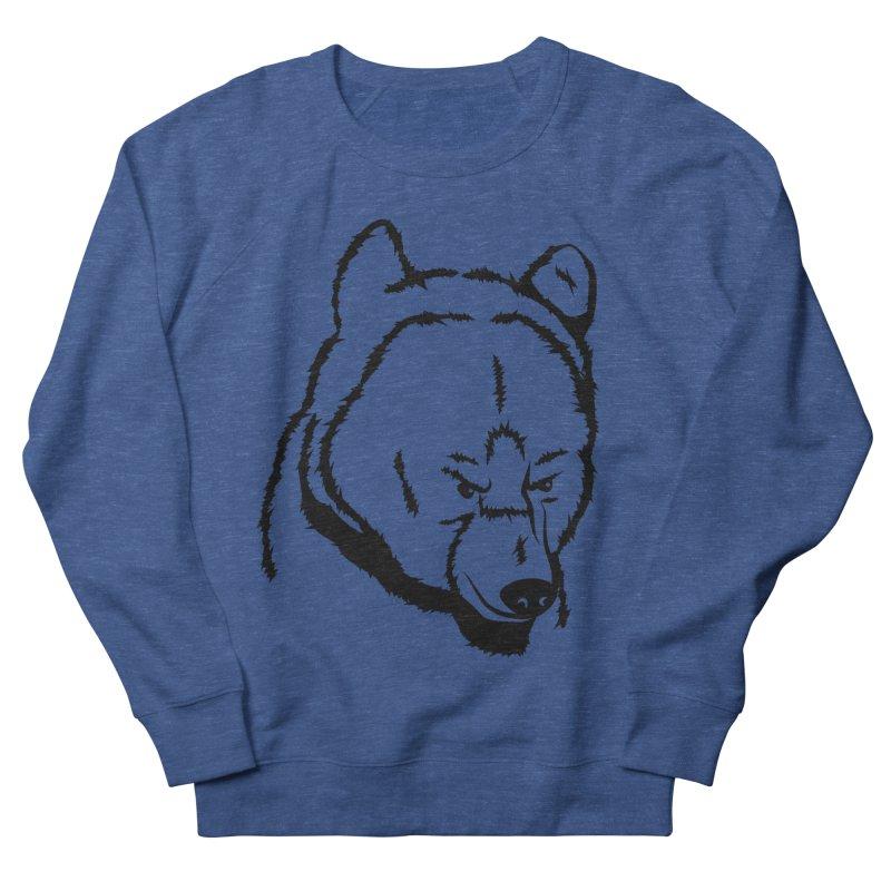Black Bear Women's French Terry Sweatshirt by Synner Design