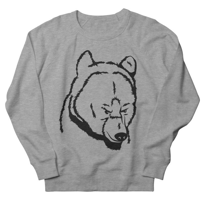 Black Bear Women's Sweatshirt by Synner Design