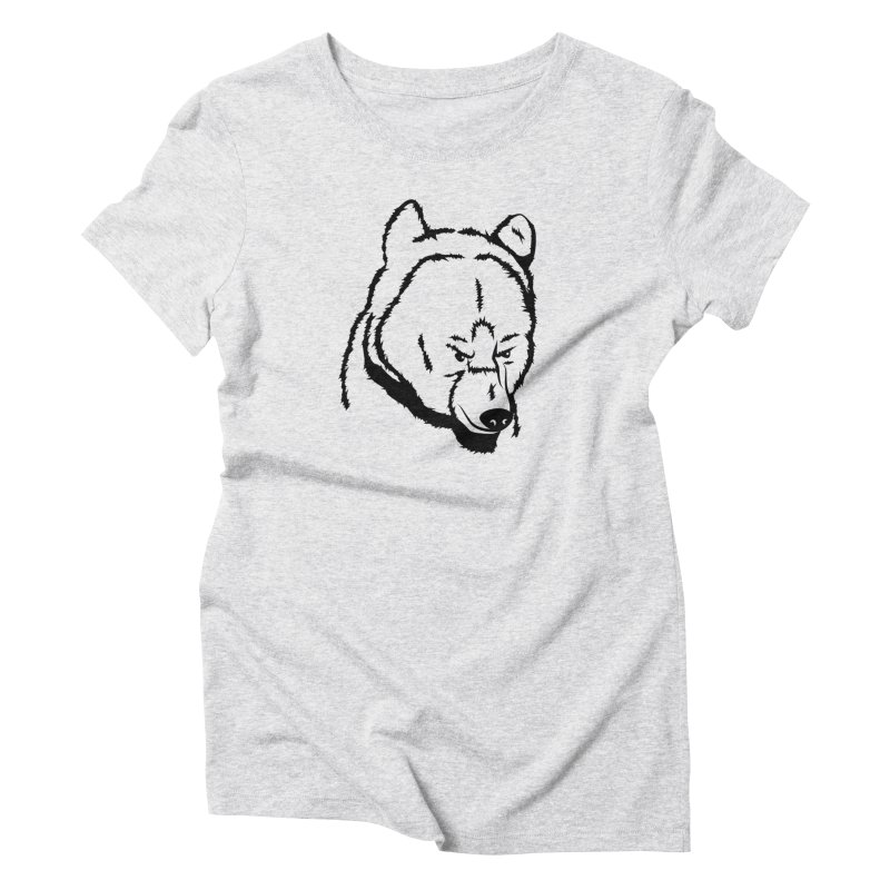 Black Bear Women's T-Shirt by Synner Design
