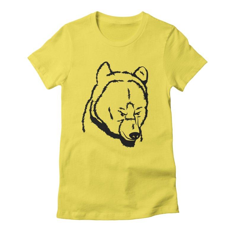 Black Bear Women's T-Shirt by Synner Design