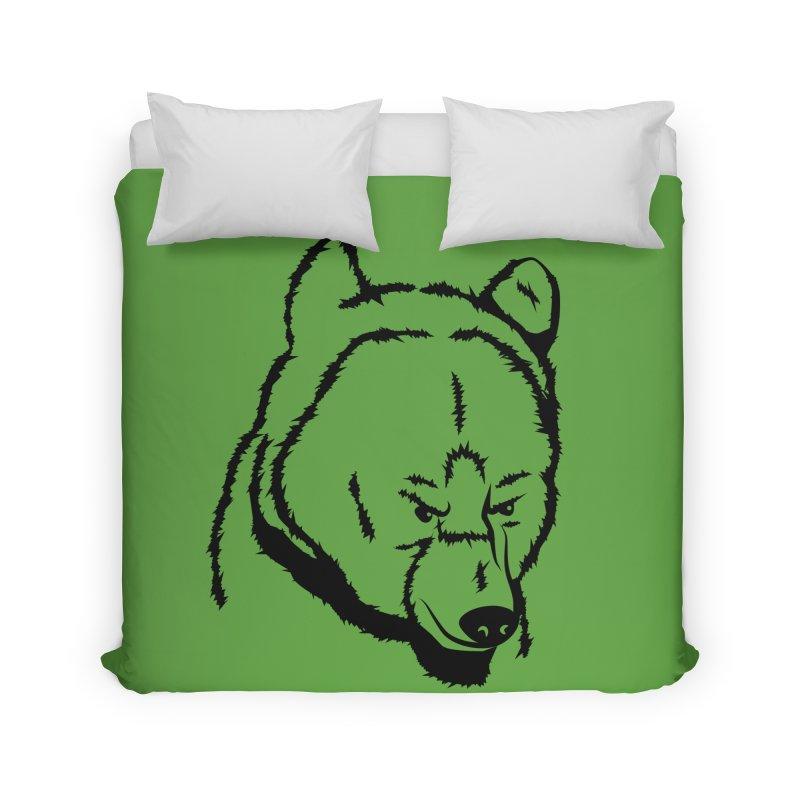Black Bear Home Duvet by Synner Design
