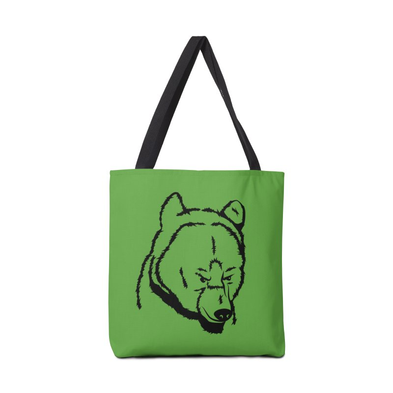 Black Bear Accessories Bag by Synner Design