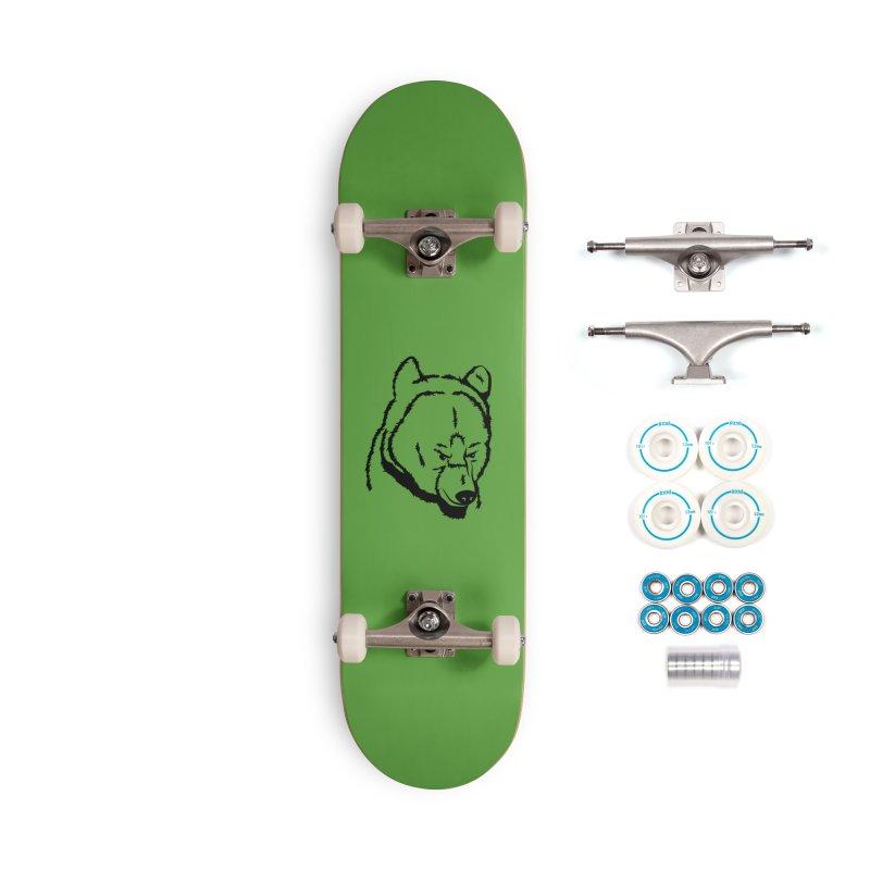 Black Bear Accessories Complete - Basic Skateboard by Synner Design