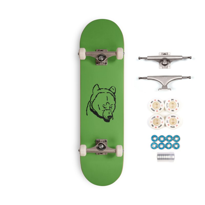 Black Bear Accessories Complete - Premium Skateboard by Synner Design