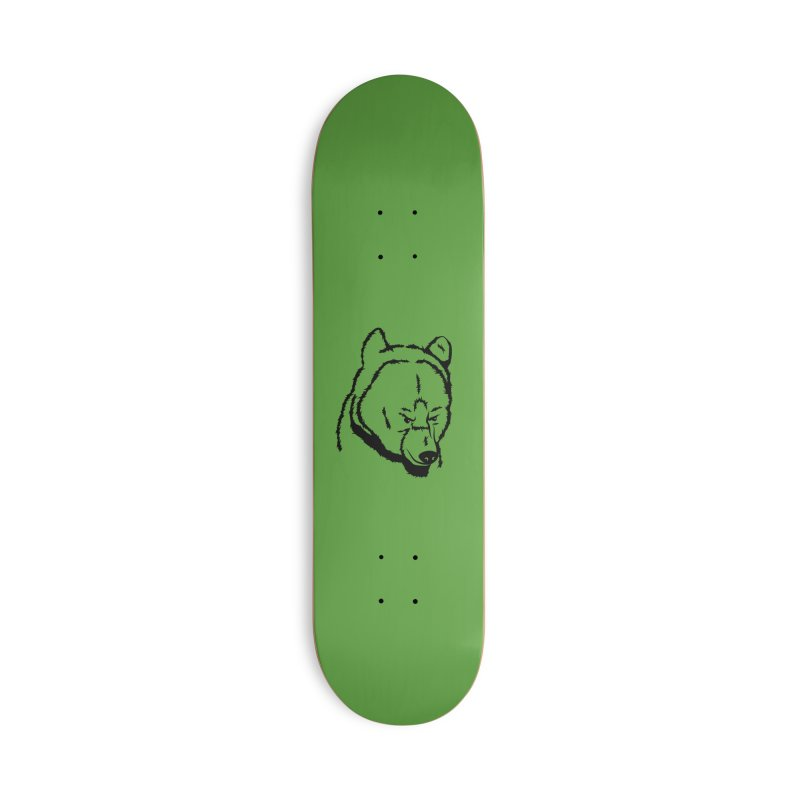 Black Bear Accessories Deck Only Skateboard by Synner Design