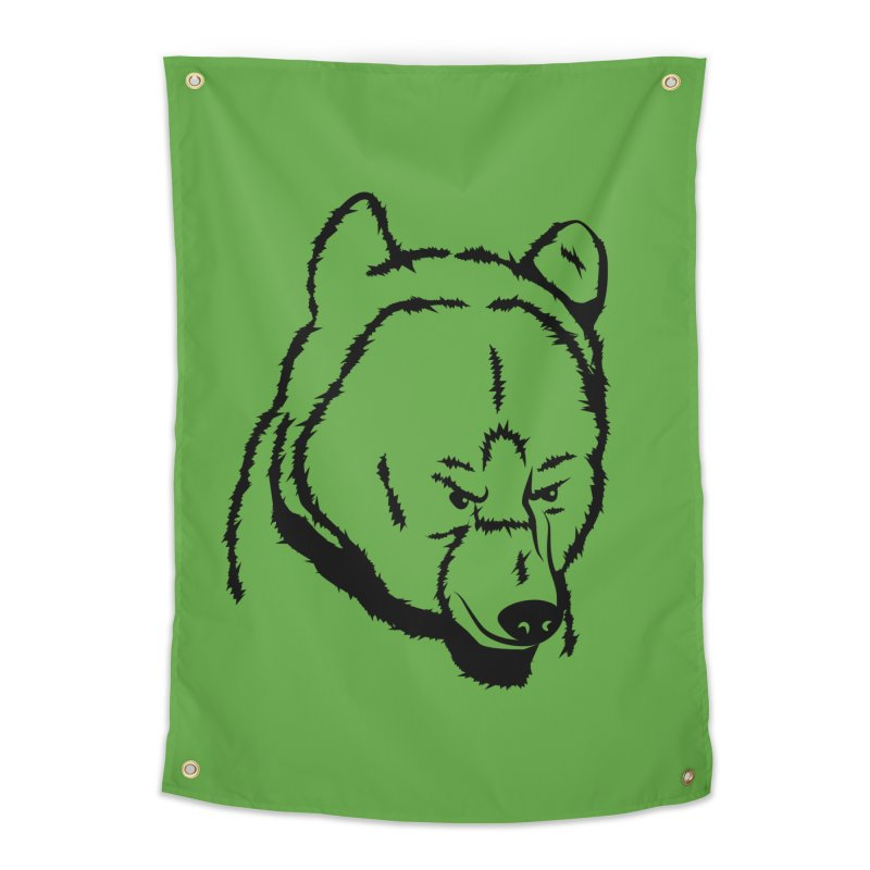 Black Bear Home Tapestry by Synner Design