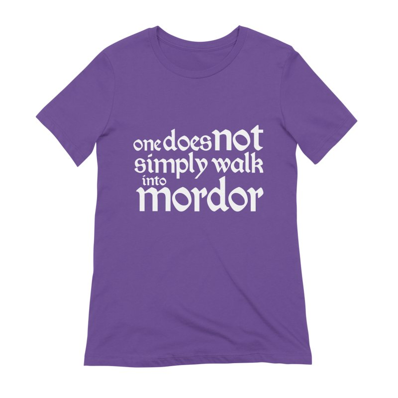 One does not simply Women's Extra Soft T-Shirt by Synner Design