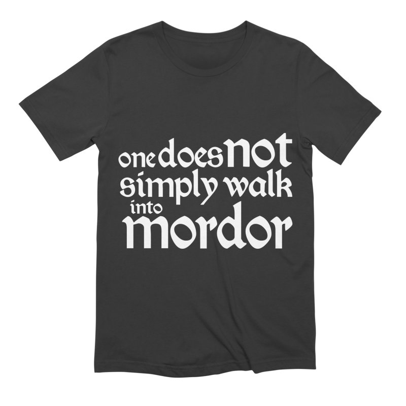 One does not simply Men's Extra Soft T-Shirt by Synner Design