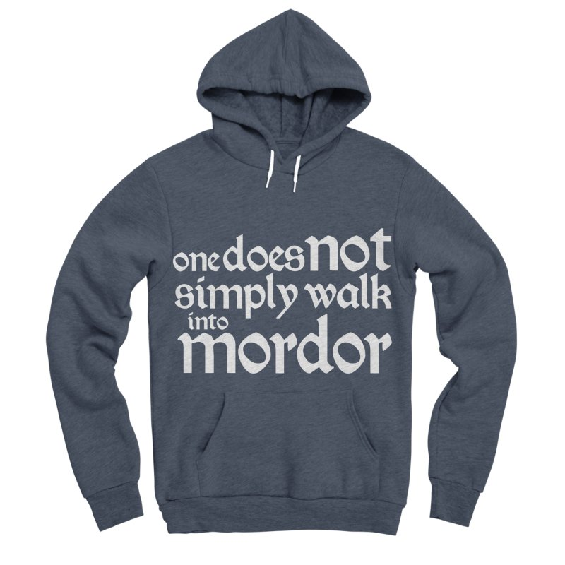 One does not simply Women's Sponge Fleece Pullover Hoody by Synner Design
