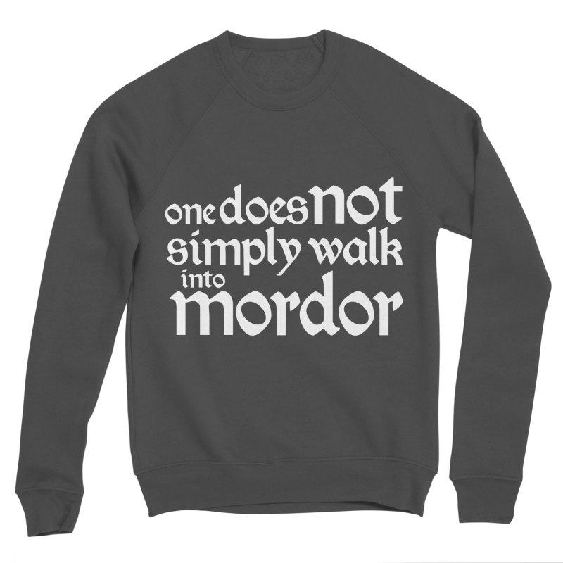 One does not simply Men's Sponge Fleece Sweatshirt by Synner Design