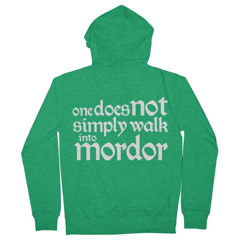 One does not simply Men's Zip-Up Hoody by Synner Design