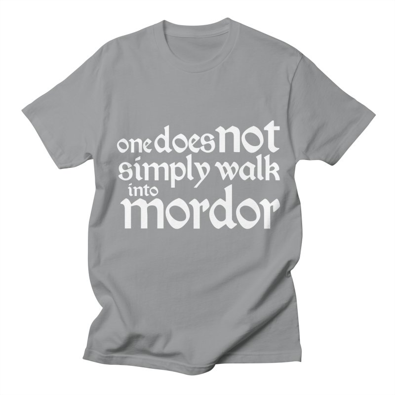 One does not simply Women's Regular Unisex T-Shirt by Synner Design