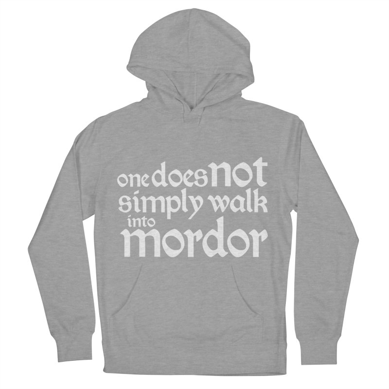 One does not simply Women's French Terry Pullover Hoody by Synner Design