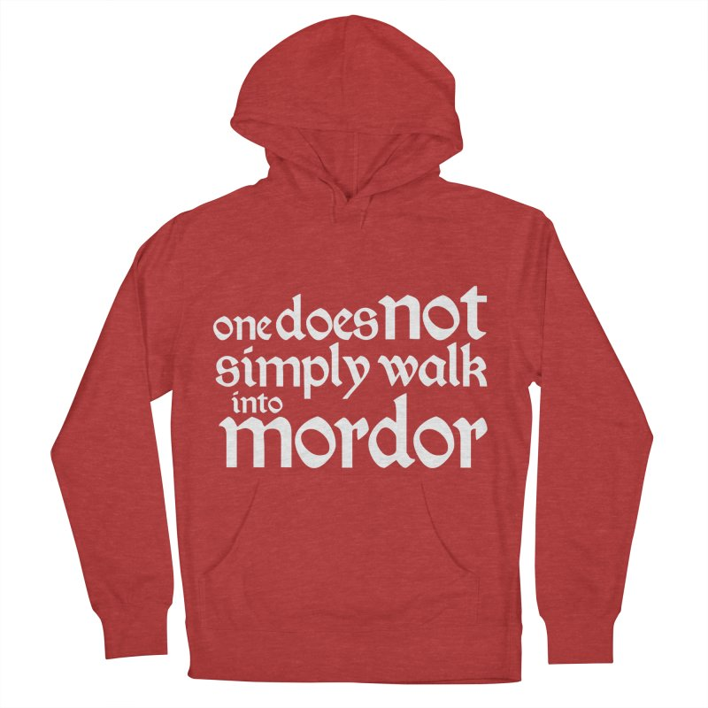 One does not simply Men's French Terry Pullover Hoody by Synner Design