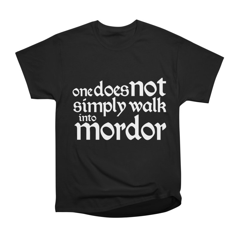 One does not simply Men's Heavyweight T-Shirt by Synner Design