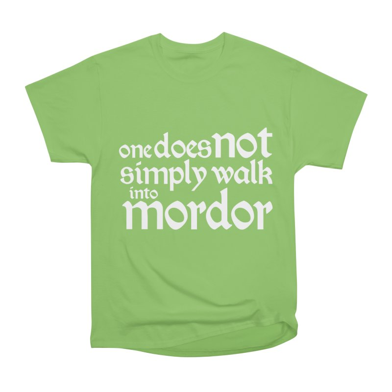 One does not simply Women's Heavyweight Unisex T-Shirt by Synner Design