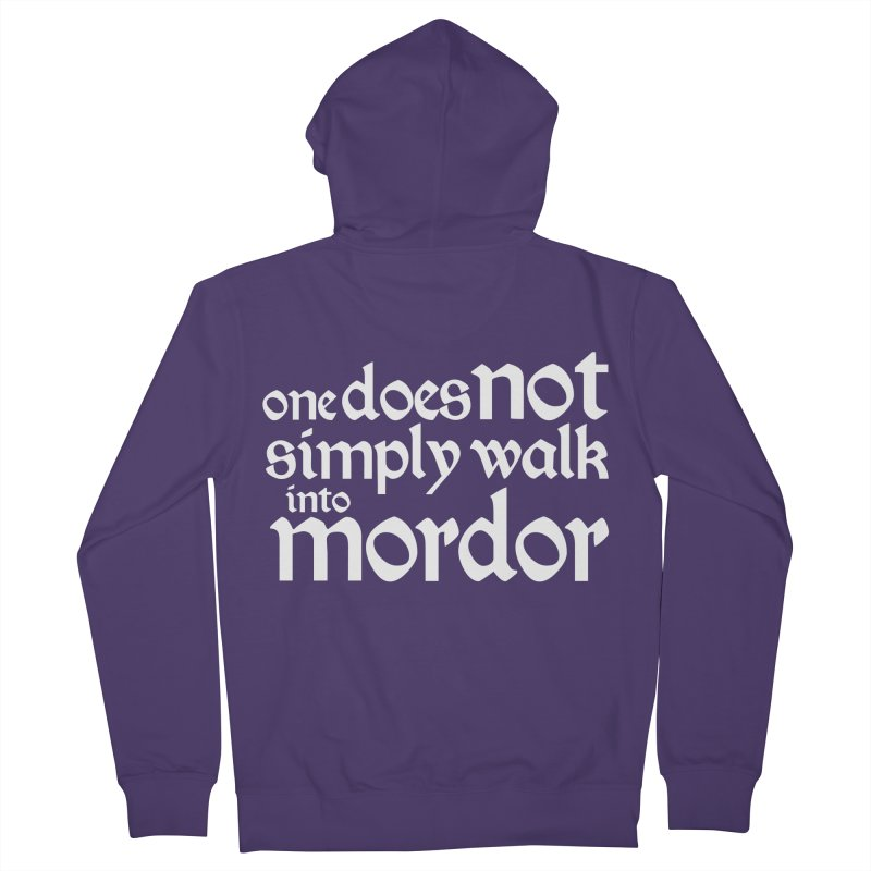 One does not simply Women's French Terry Zip-Up Hoody by Synner Design