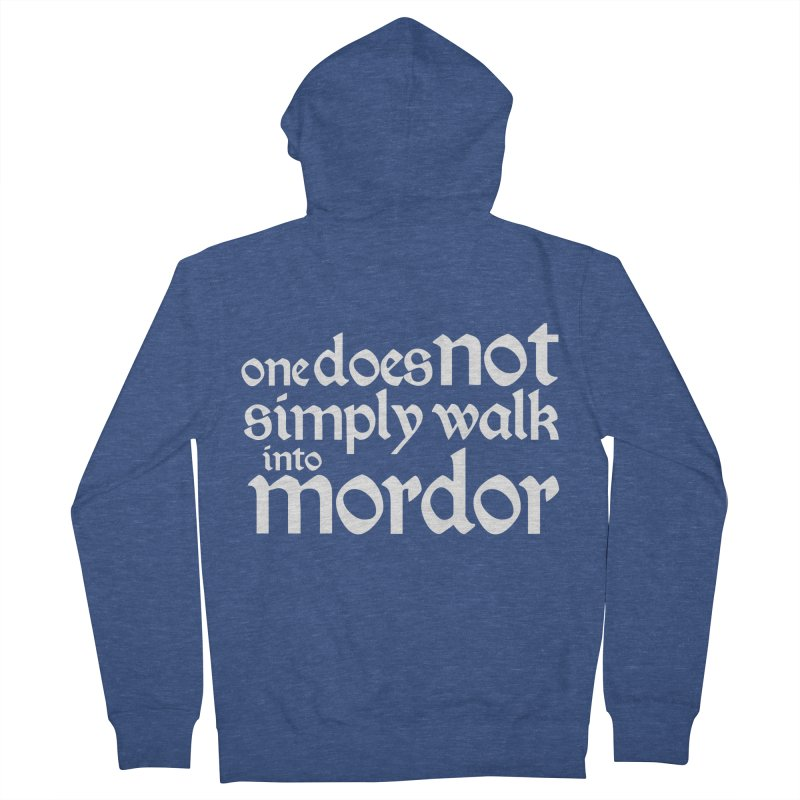 One does not simply Men's French Terry Zip-Up Hoody by Synner Design